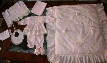 caratteristiche eccezionali originale offerte esclusive corredino completo neonato per culla | Cuore di mamma